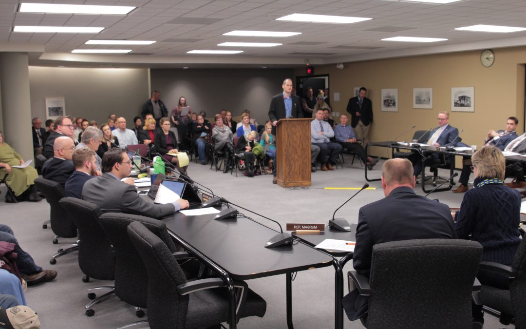 Committee Hearing For HB 1433