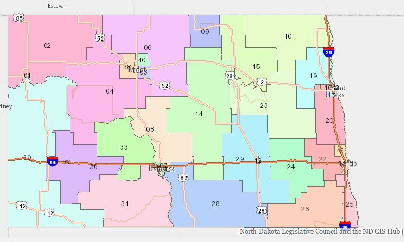 Find Your District Representatives
